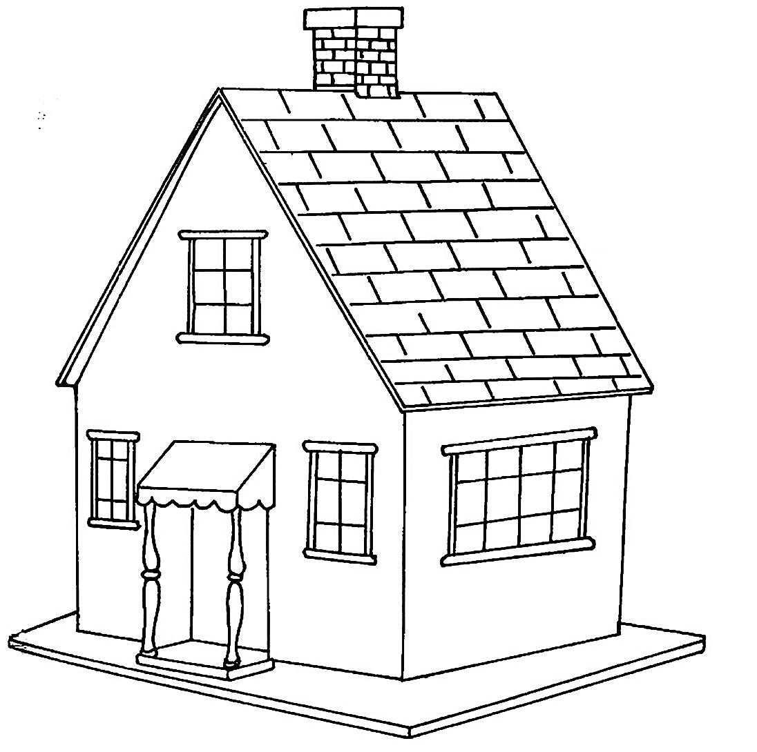 Раскраска домик для барби на vipraskraski.ru