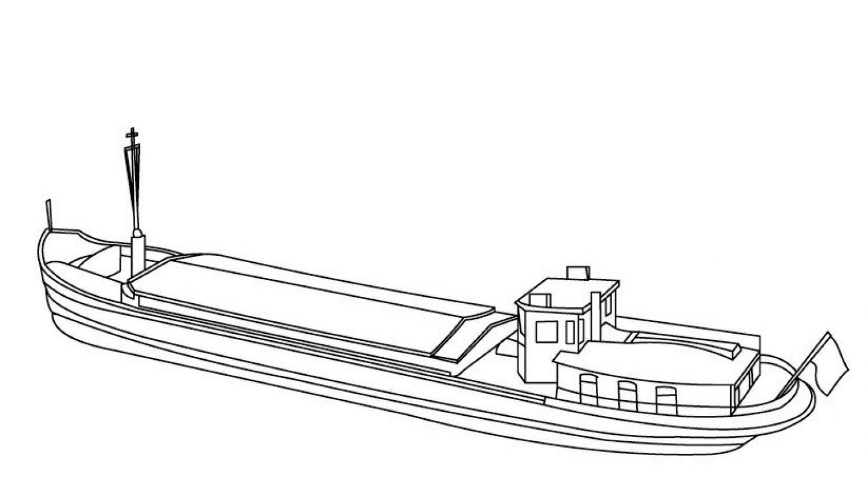 Раскраска лодка корабль на vipraskraski.ru