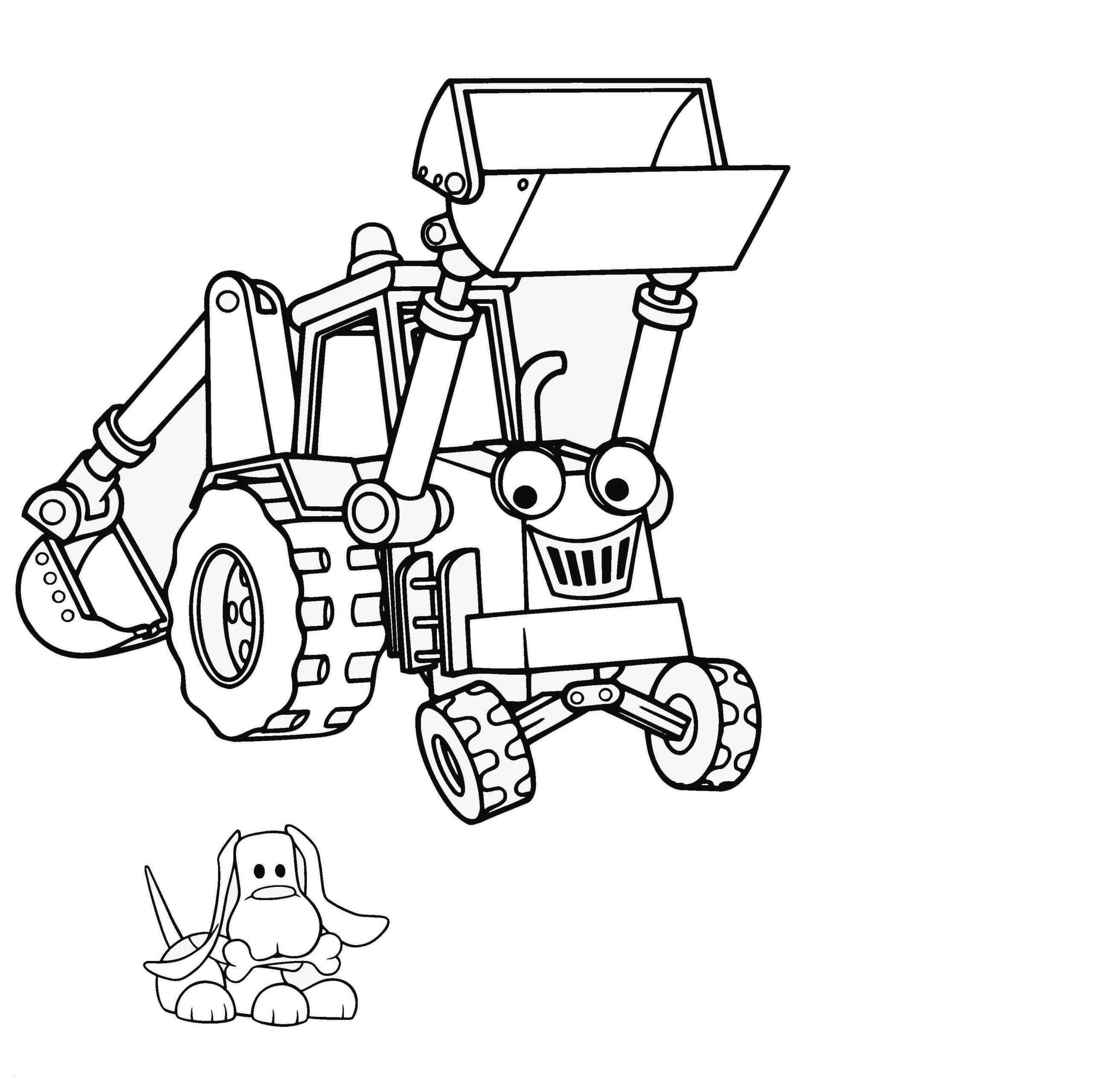 Раскраска экскаватор-робот на vipraskraski.ru