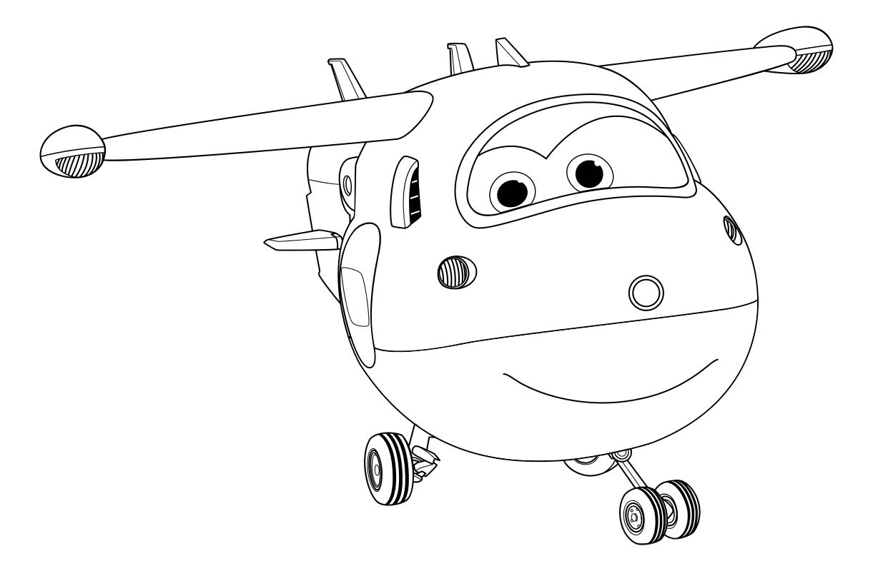 Раскраска самолет супер крылья на vipraskraski.ru