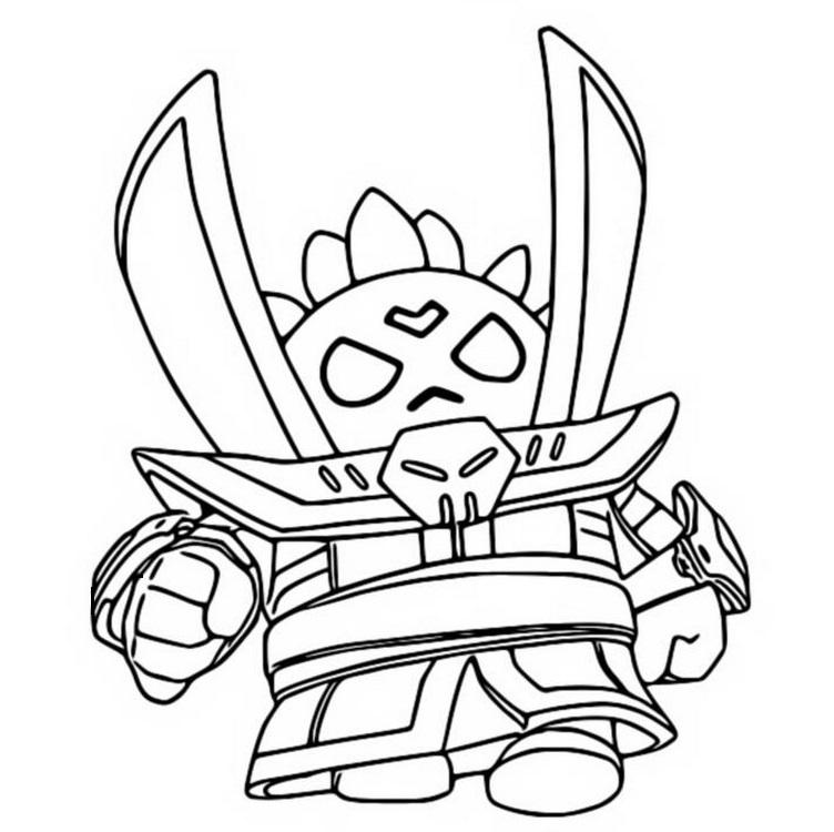 Раскраска черный лорд спайк на vipraskraski.ru